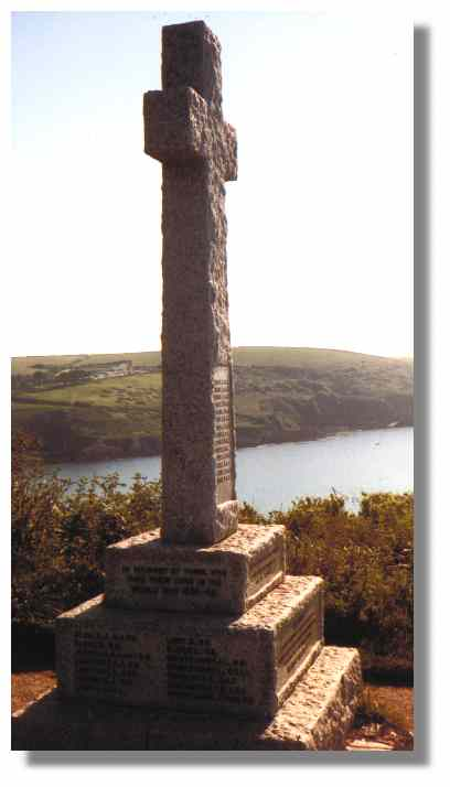Polperro and Talland's War Memorial